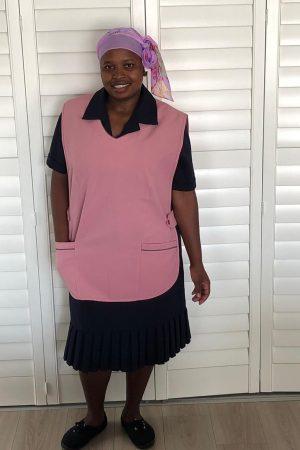 Della_Domestic Worker Uniforms_apron – pink 2